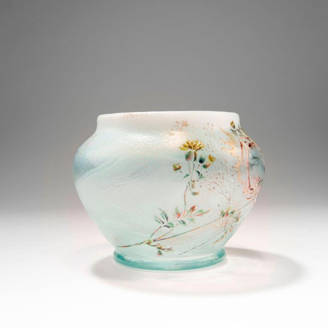 'Paysage et Fleurs' vase, 1890 - 2