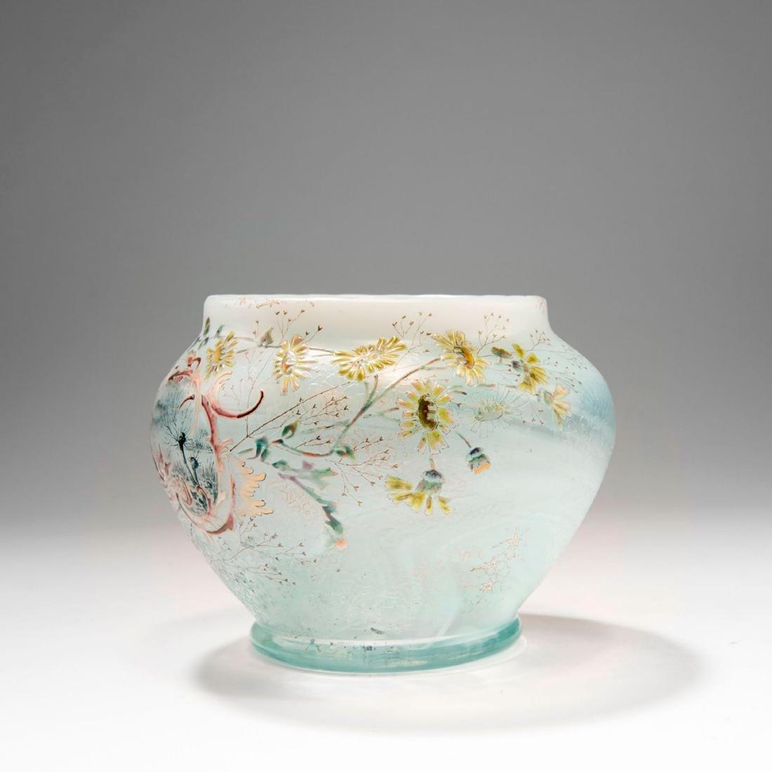 'Paysage et Fleurs' vase, 1890 - 3