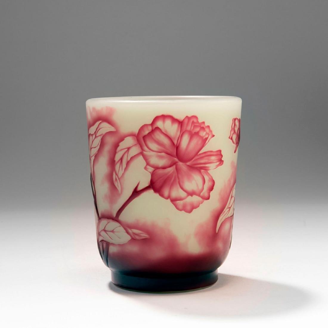 'Roses' vase, 1900-10 - 2