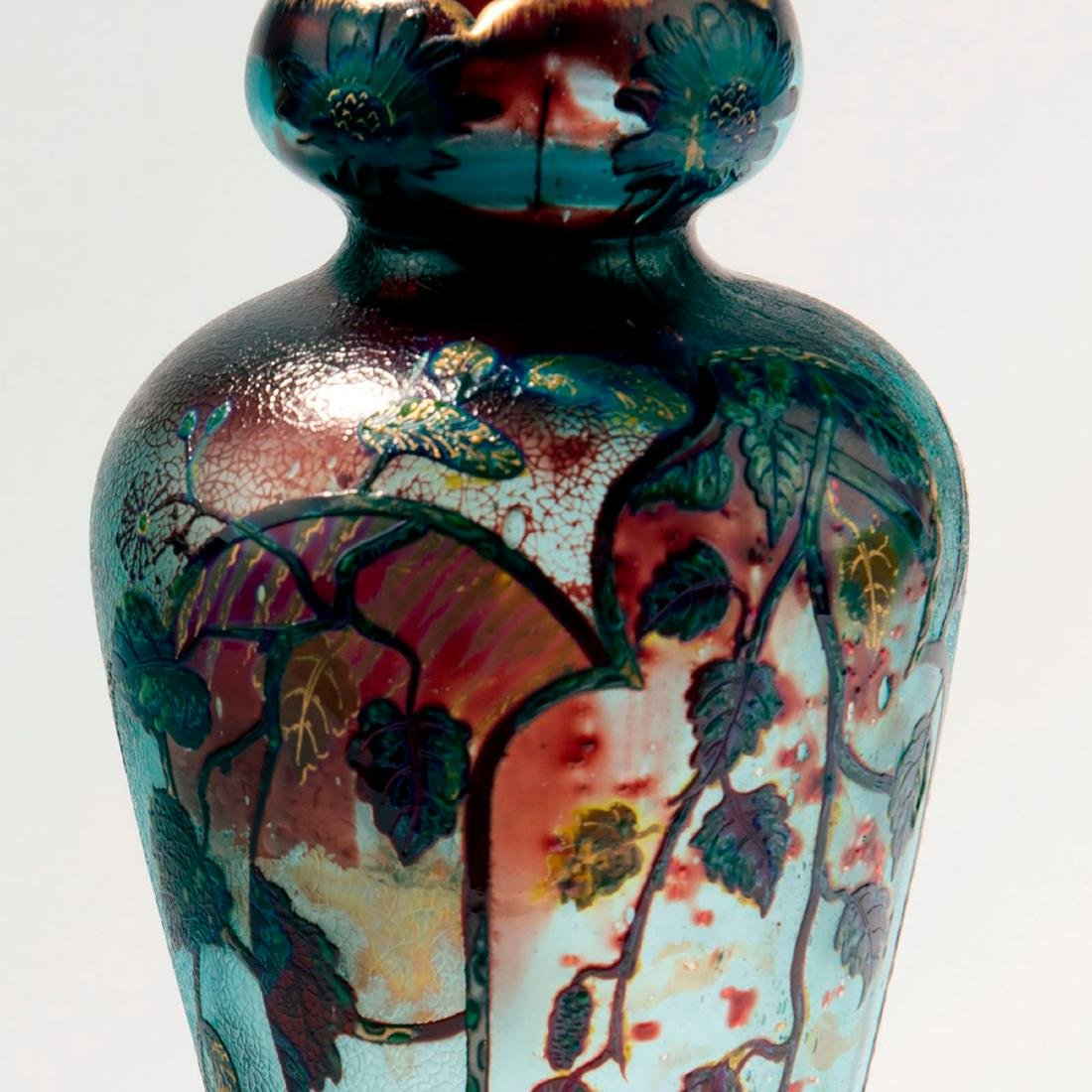 'Branches de Noisettier' vase, 1895 - 3