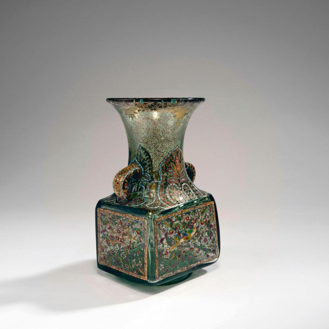'Inspiration Persanne' vase with handles, c. 1880