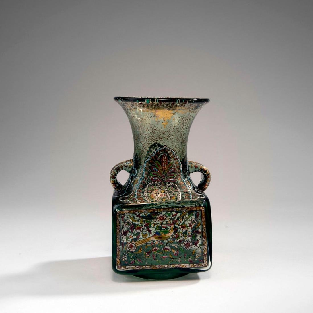 'Inspiration Persanne' vase with handles, c. 1880 - 2