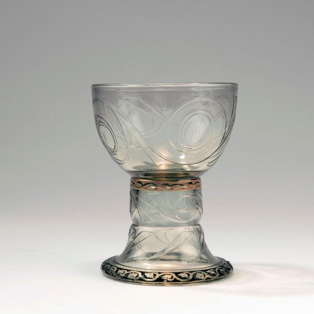Wine glass, 1884