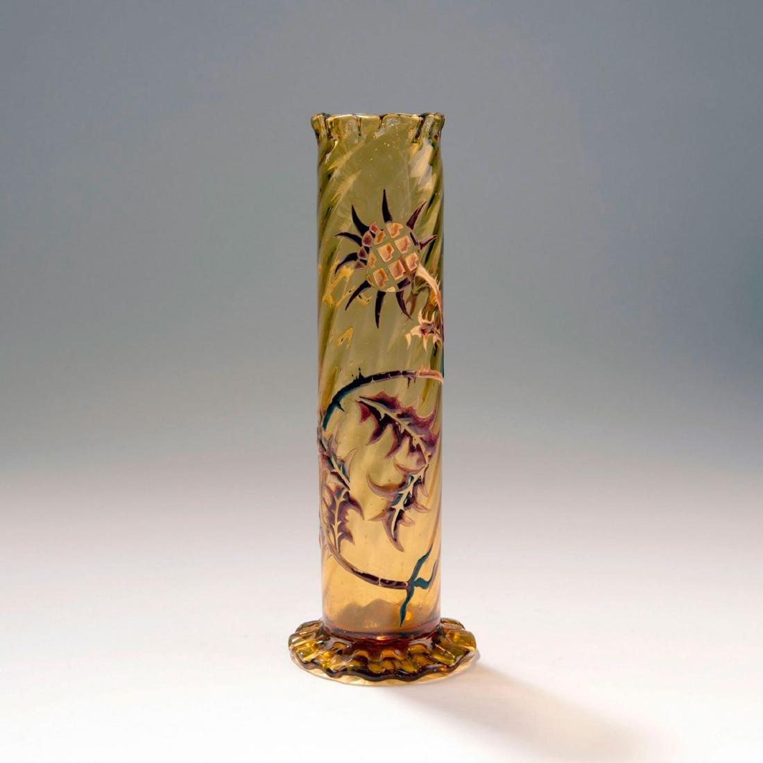 'Chardons et Croix de Lorraine' vase, c. 1884