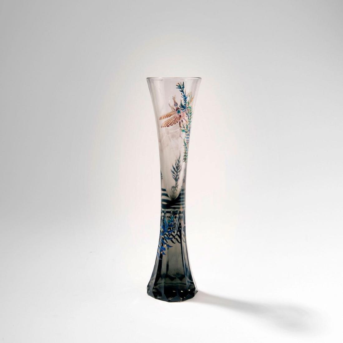 'Je suis Ouvrier du Bonheur' vase, 1885-89 - 2