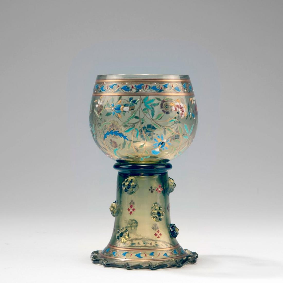 Wine glass, c. 1885 - 2