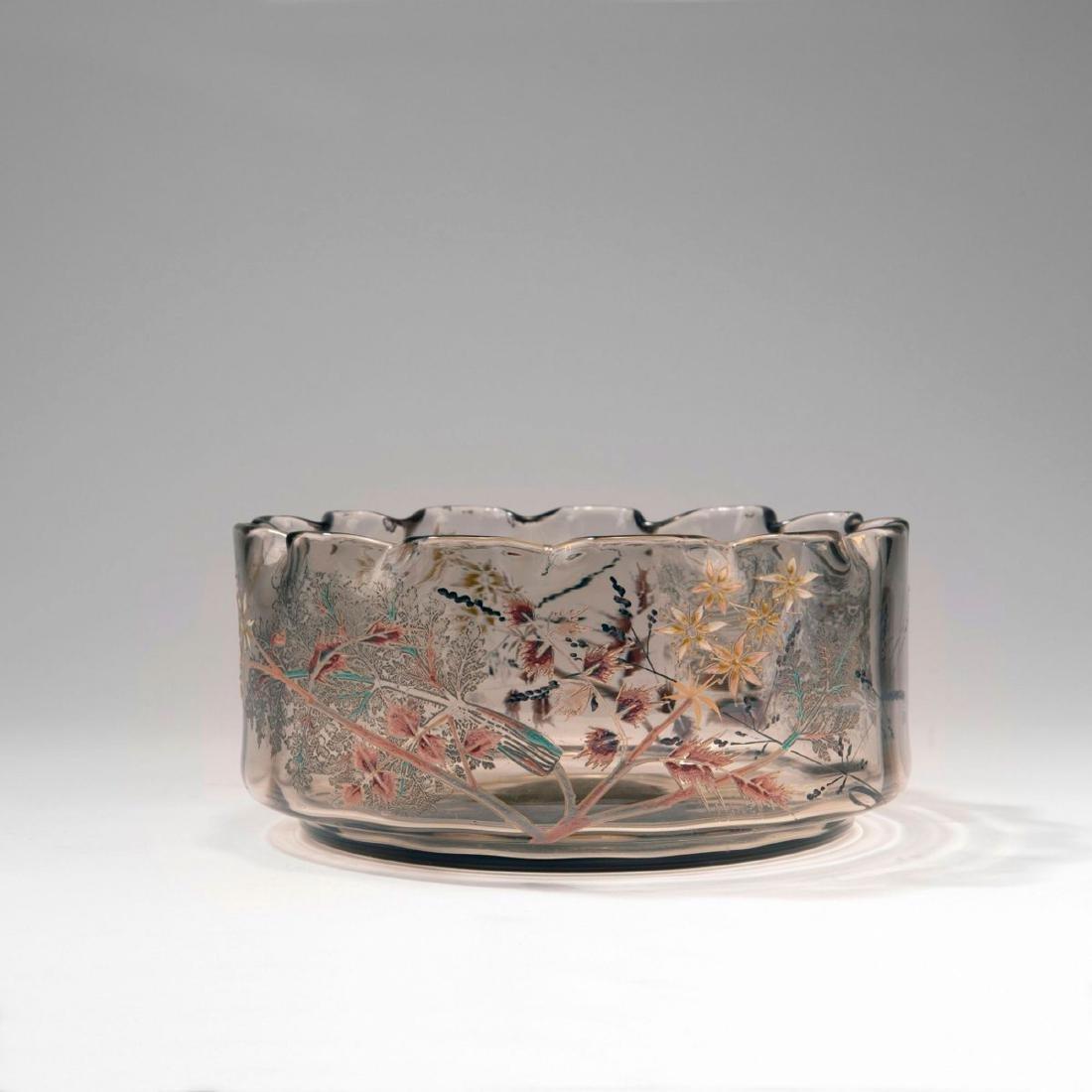 'Cerfeuil hérissé' bowl, 1889-95