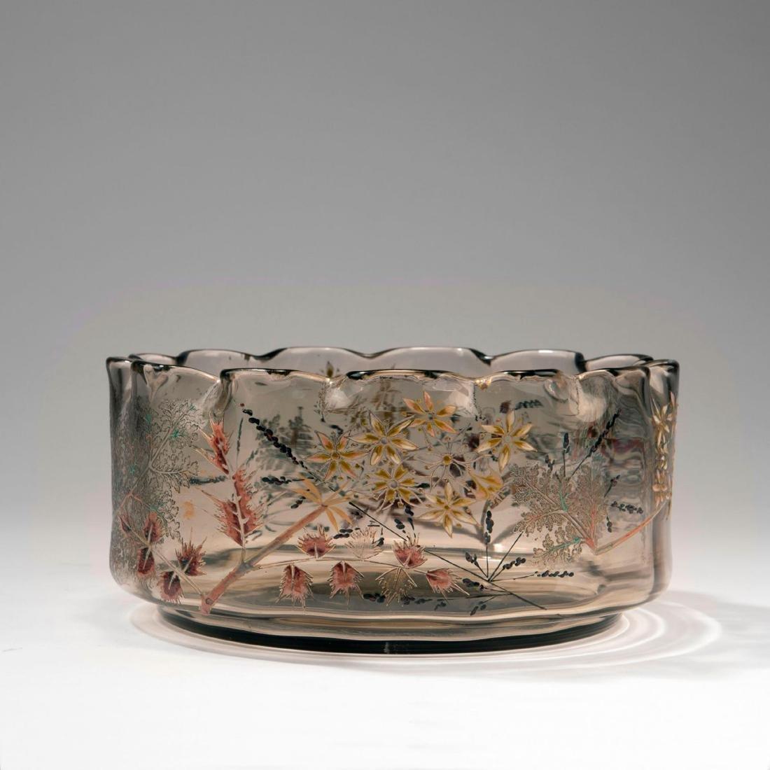 'Cerfeuil hérissé' bowl, 1889-95 - 2