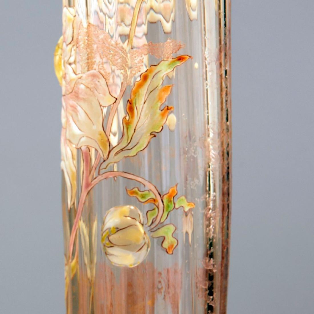 Tall 'Dahlias' vase, 1890-94 - 4