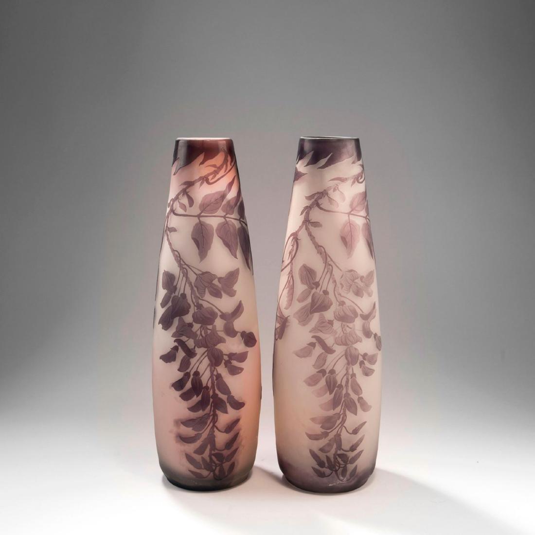 Tall 'Glycines' vase, 1902-04 - 4