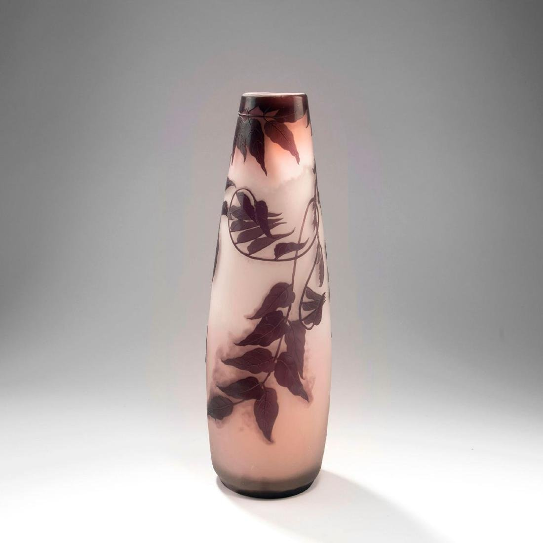 Tall 'Glycines' vase, 1905-08 - 2