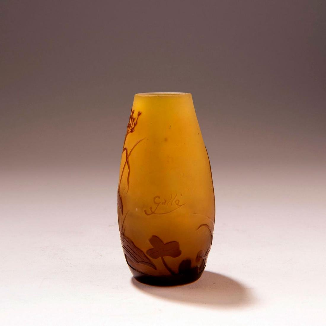 Small 'Orchidées' vase, 1906-14 - 2
