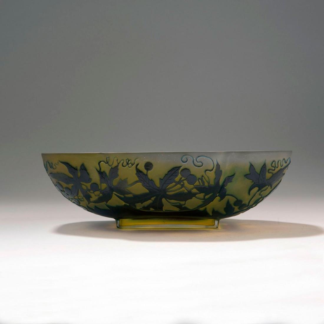 'Vigne vierge' bowl, 1906-14