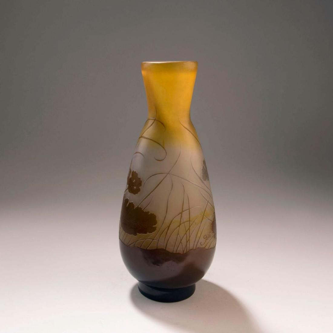 'Geraniums' vase, 1908-18 - 2