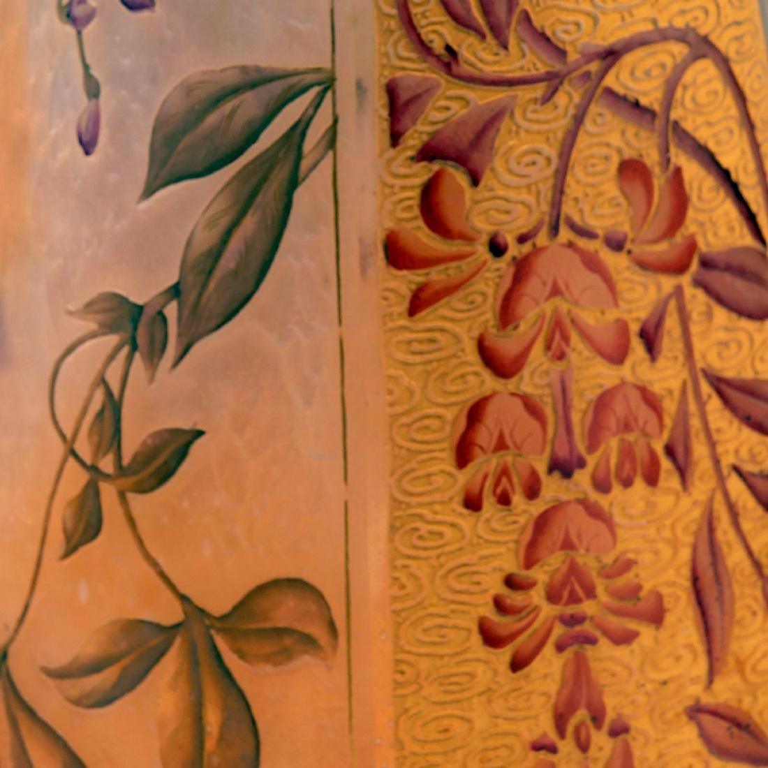 Tall 'Glycines' vase, 1895-1900 - 4