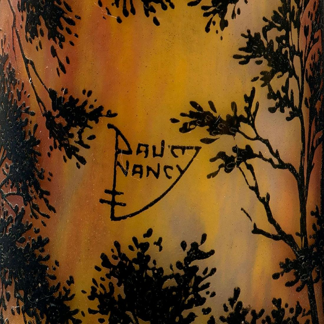 Tall 'Paysage, soleil couchant' vase, 1911-13 - 4