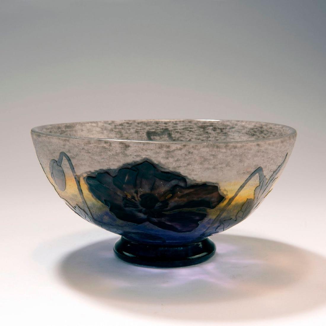 'Pavots noirs' bowl, c. 1905