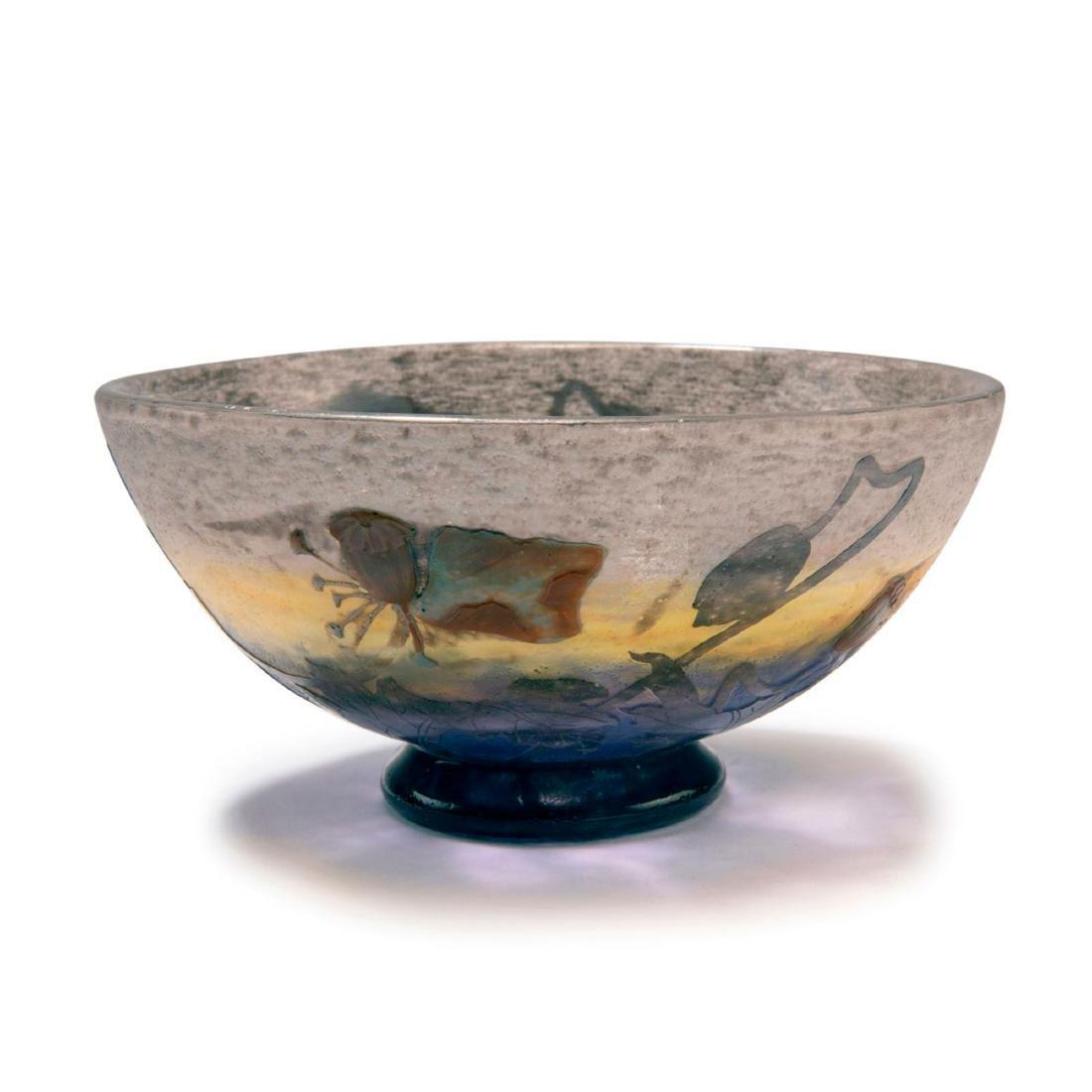'Pavots noirs' bowl, c. 1905 - 2