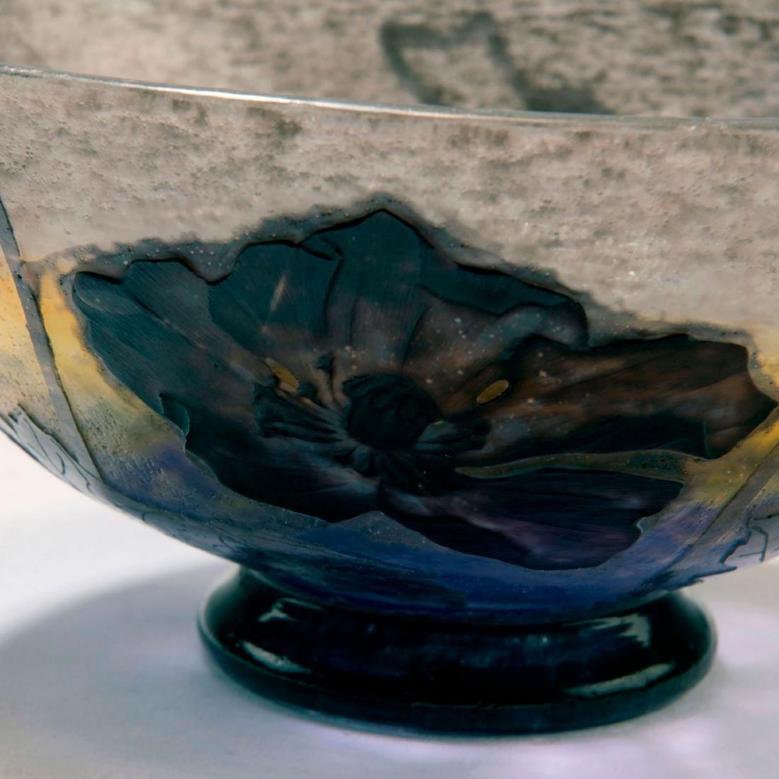 'Pavots noirs' bowl, c. 1905 - 3