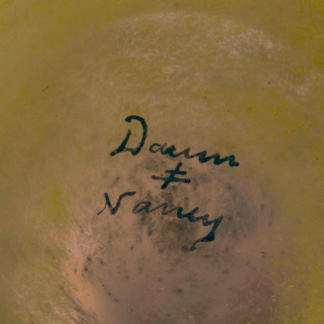 'Crépuscule sous la neige' or 'Arbres en hiver' vase, - 5