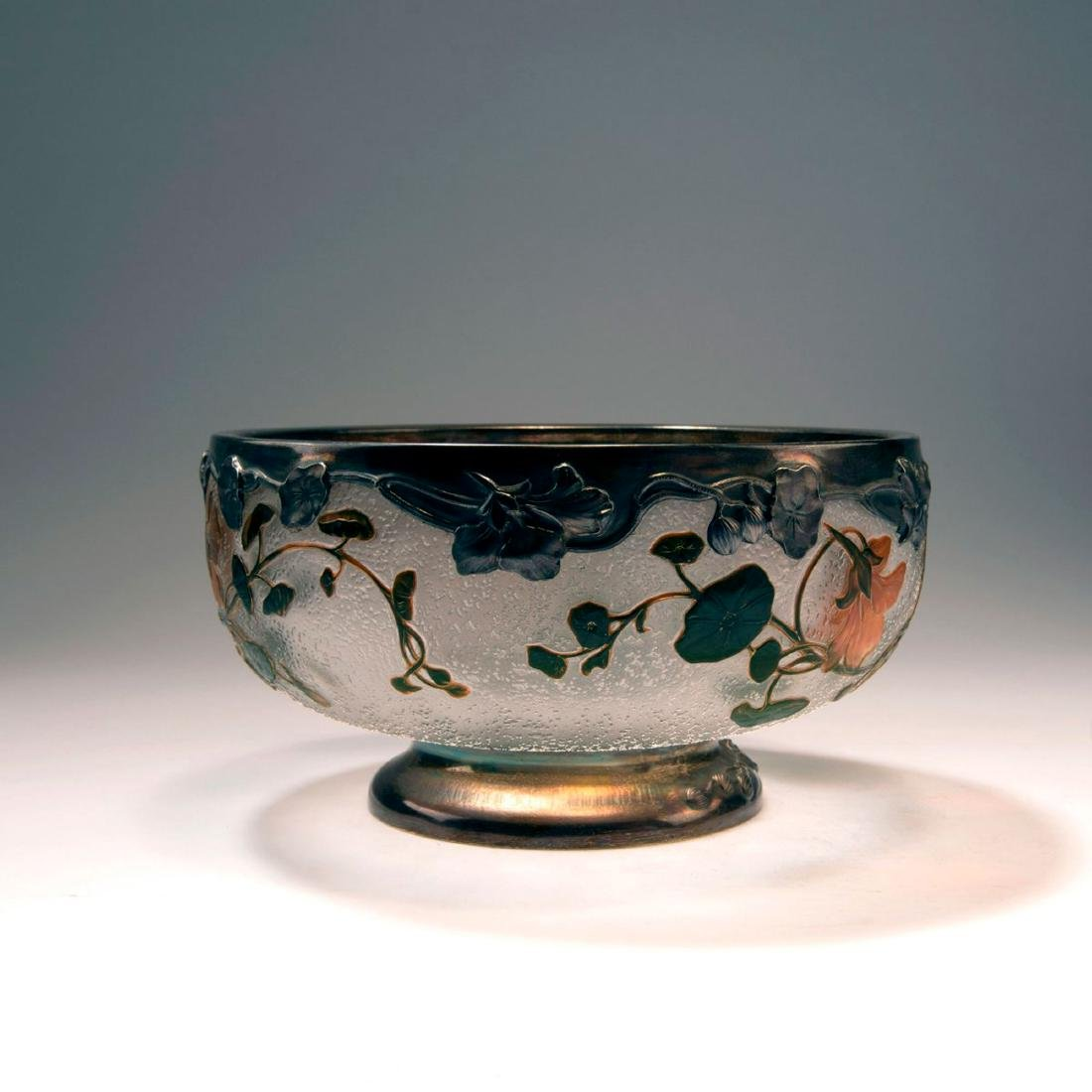 'Capucines' bowl with silver mounting, 1898-1900 - 2