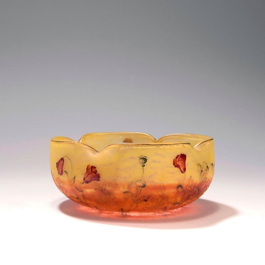 'Coquelicots' bowl, c. 1900 - 2