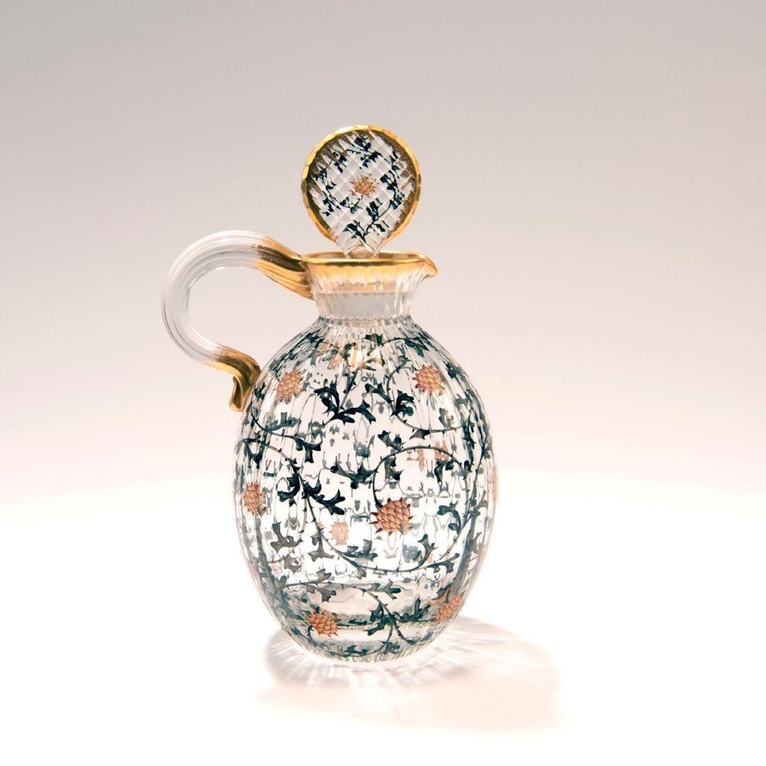 Small 'Chardons' jug, c. 1892 - 2