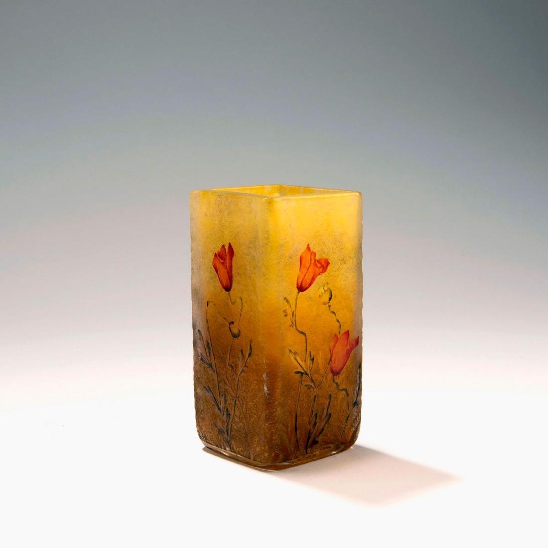 Small 'Coquelicots' vase, c. 1900