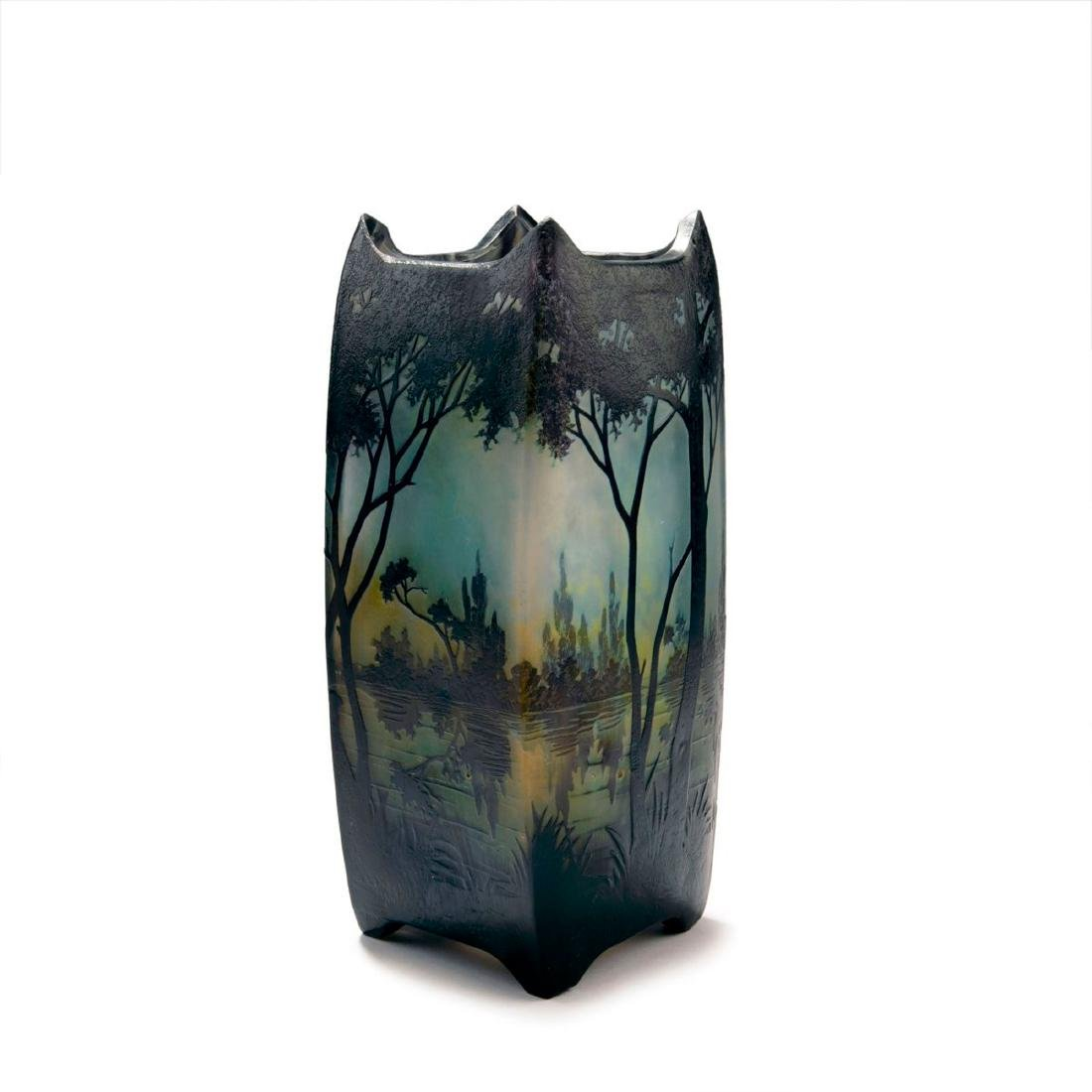 'Paysage lacustre' vase, 1905-10