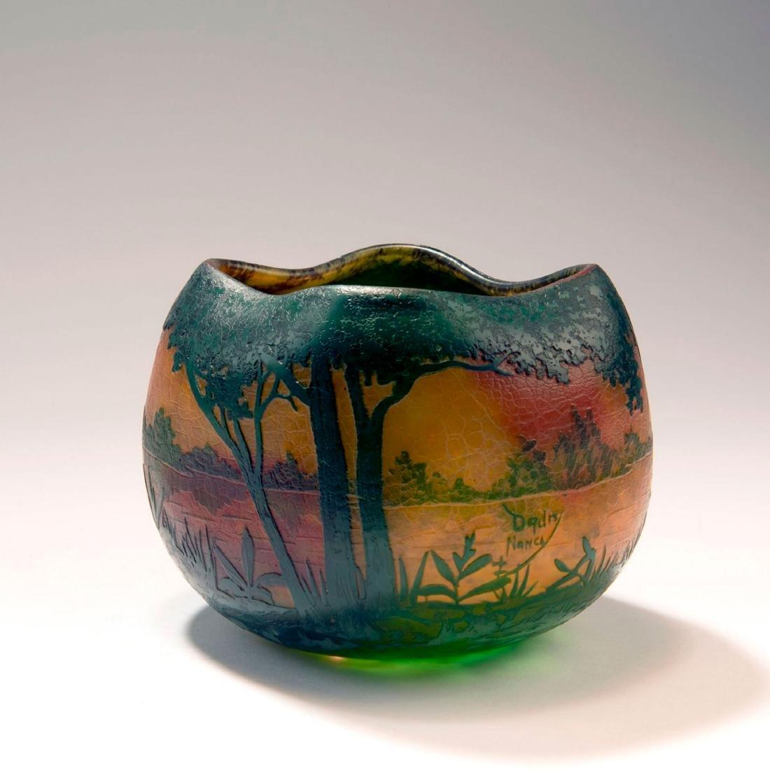 'Paysage lacustre' vase, 1905-10 - 2