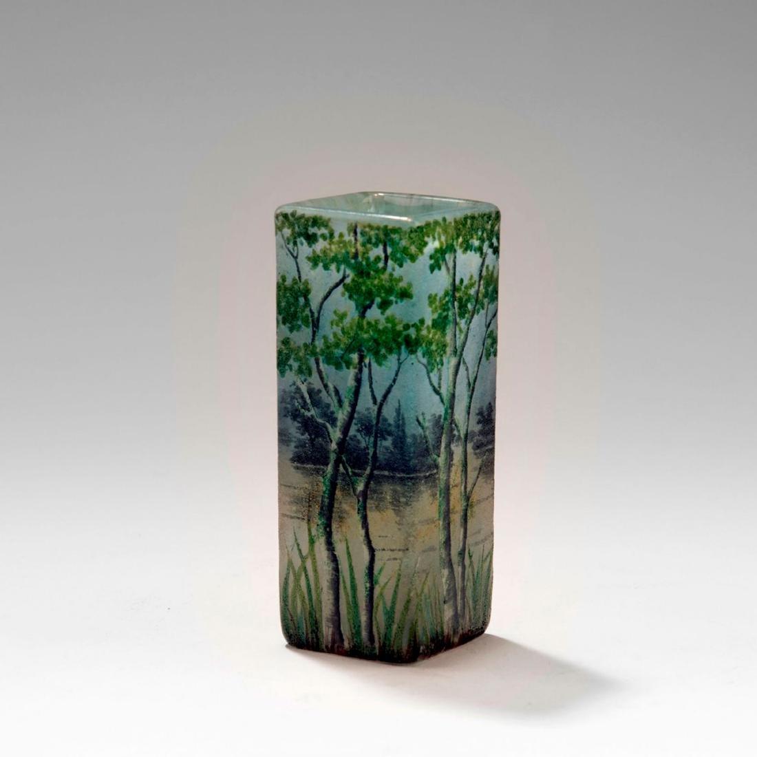 Small 'Paysage lacustre' vase, 1905-10 - 2