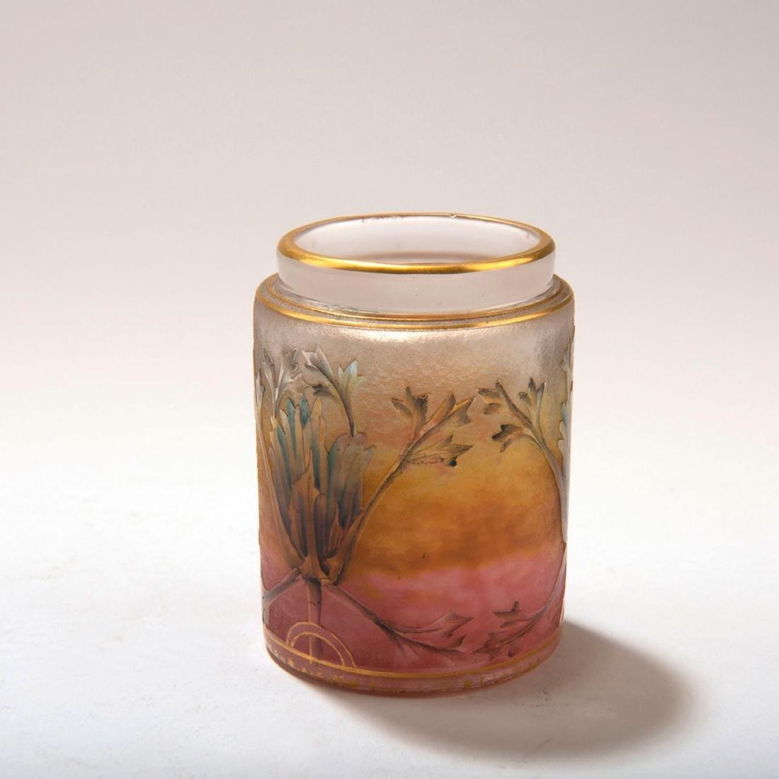 Small 'Chardons' jar, c. 1905 - 2