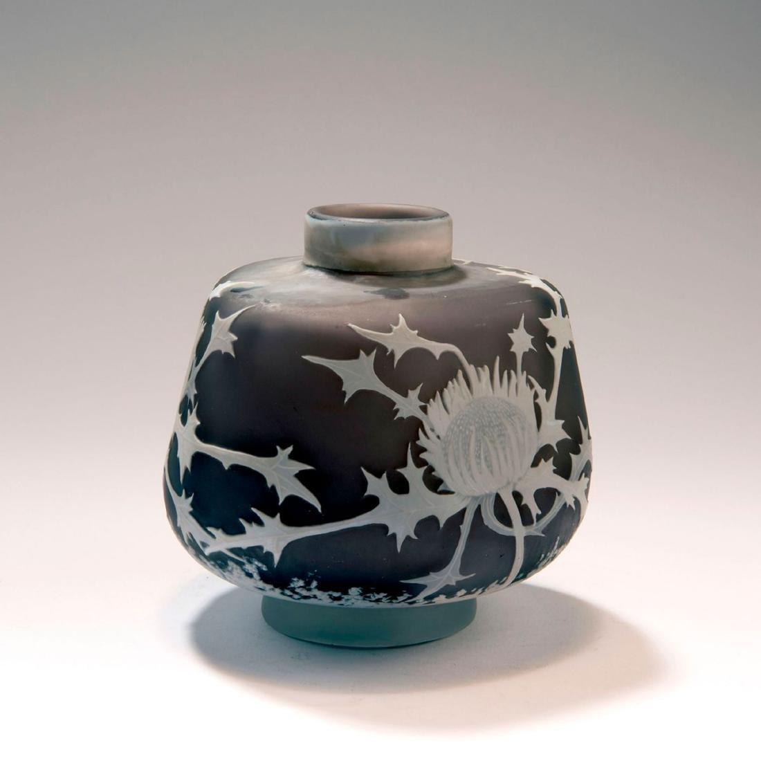 'Chardons' vase, c. 1907 - 2