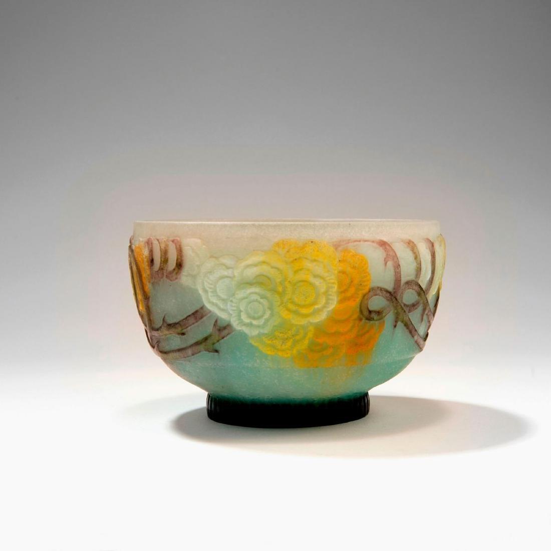'Roses grimpantes' bowl, 1920s