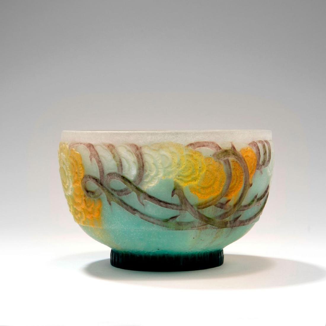 'Roses grimpantes' bowl, 1920s - 2