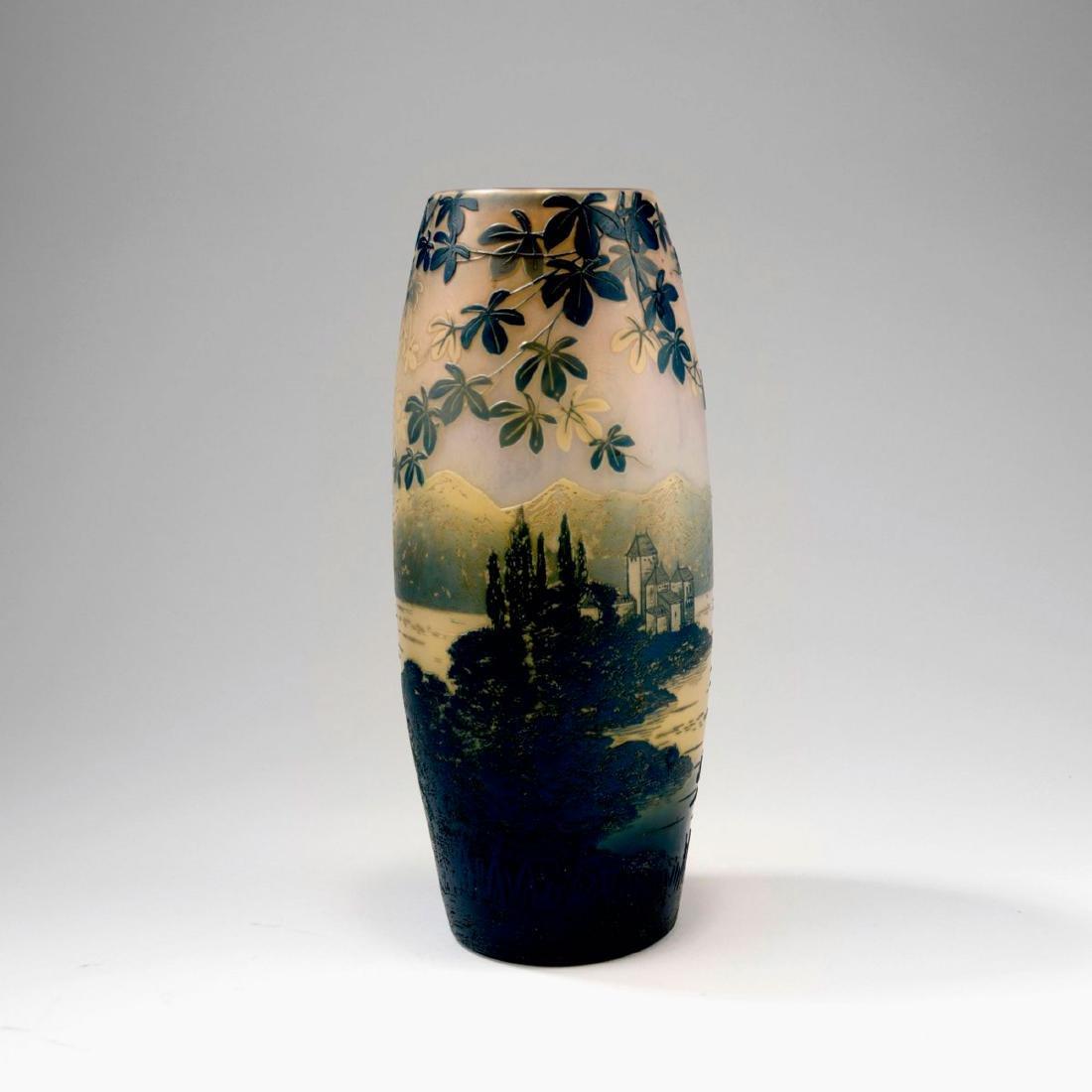 'Château de Chillon' vase, 1915-20