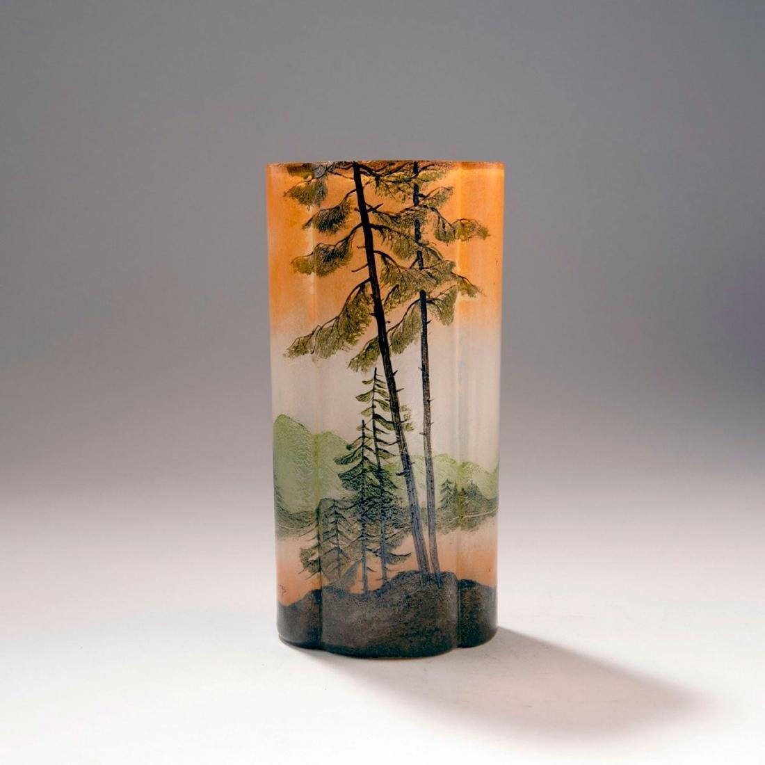 'Paysage lacustre' vase, 1910-15