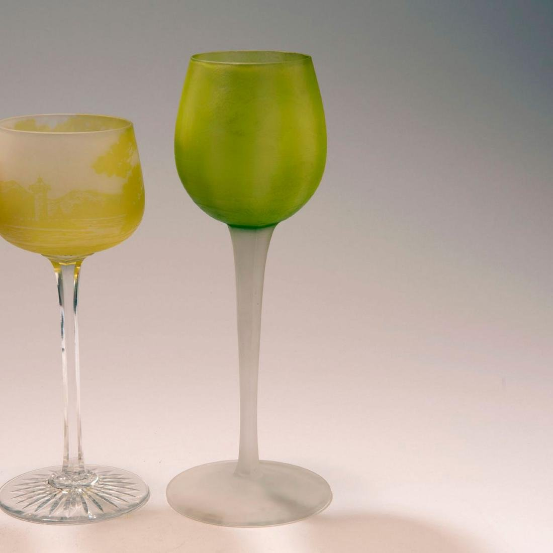Three wine glasses, 1923-25 - 2