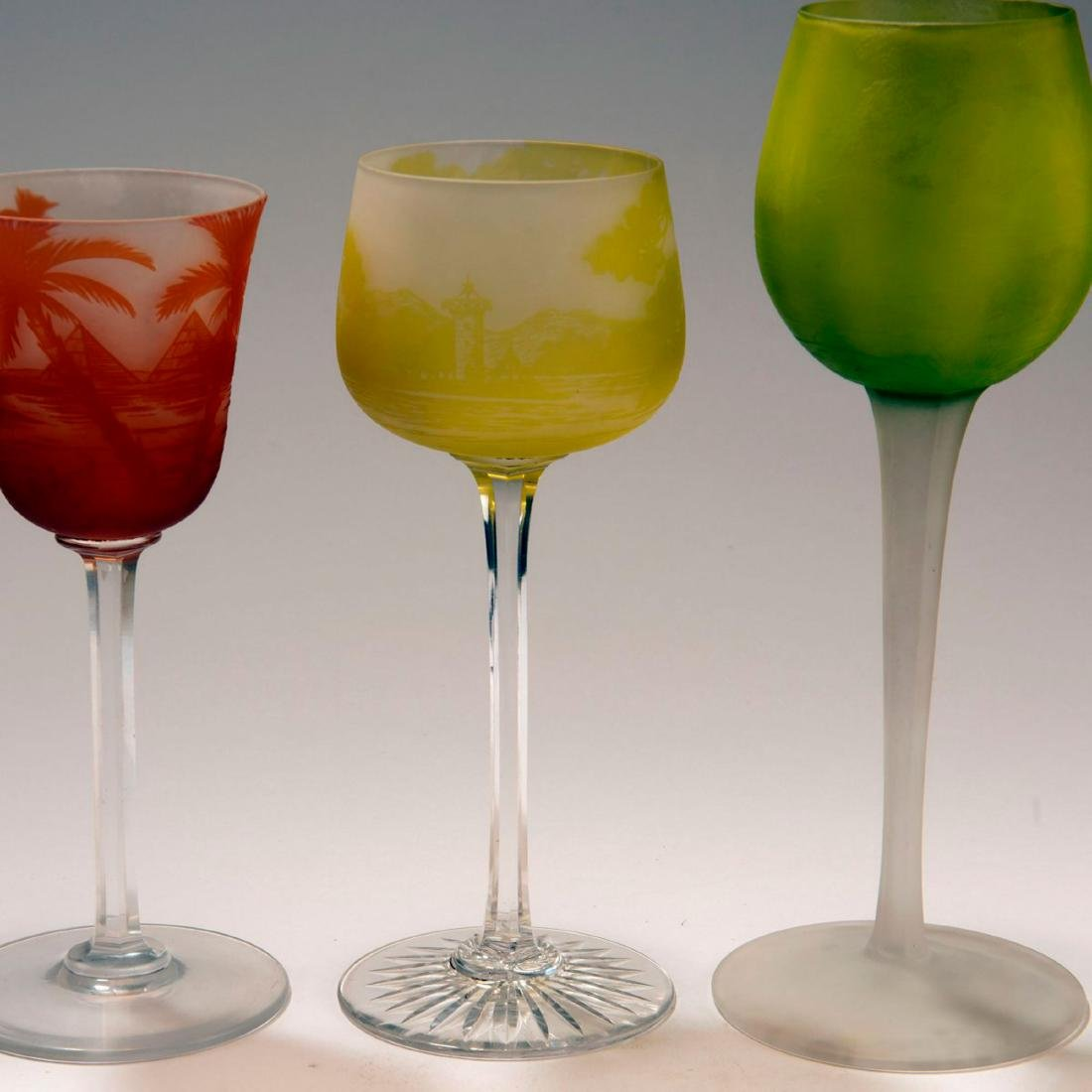 Three wine glasses, 1923-25 - 3