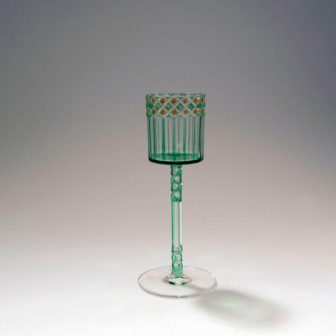 Wine glass, c. 1910