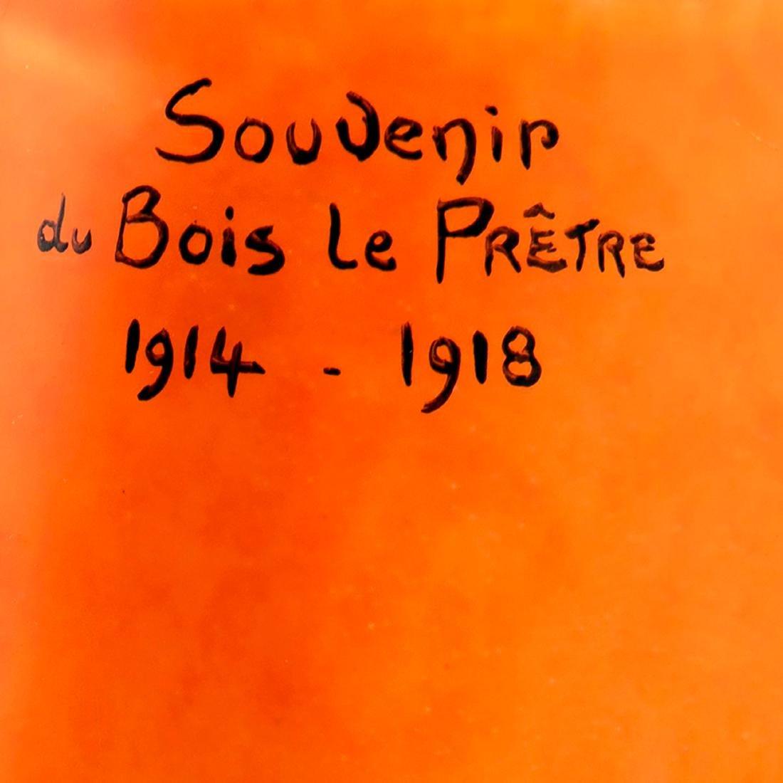 'Souvenir de Bois-le-Prêtre' vase, 1918 - 2