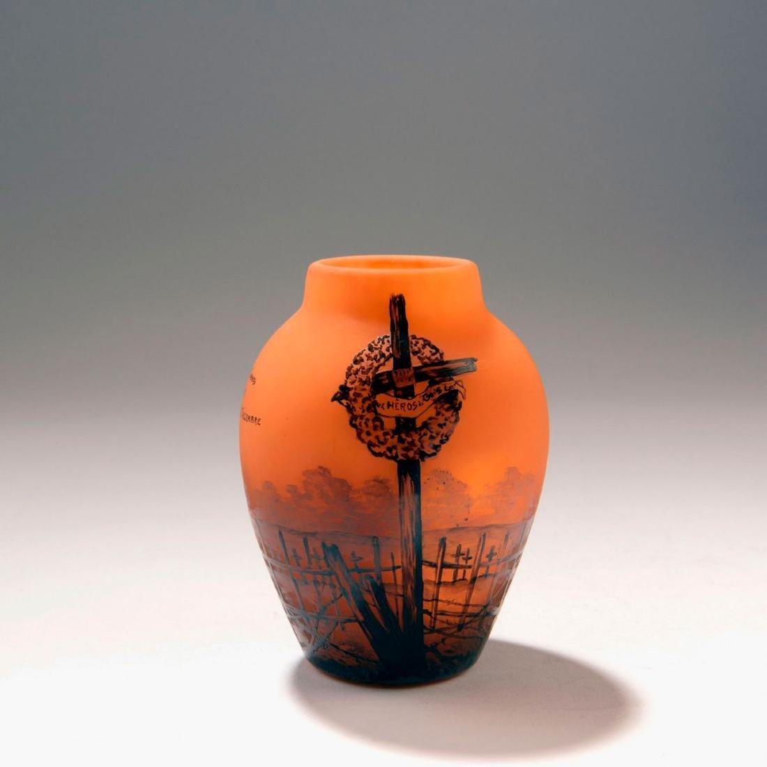 'Croix des Carmes' vase, dated 1920