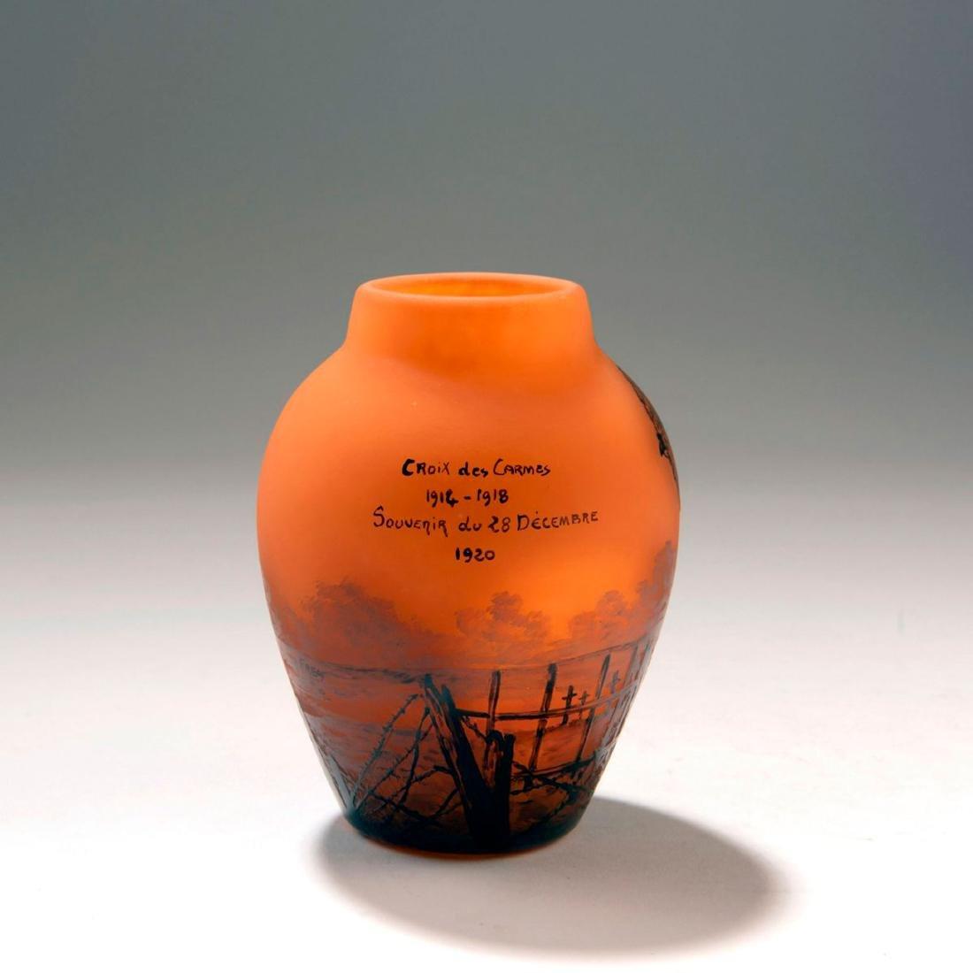 'Croix des Carmes' vase, dated 1920 - 2