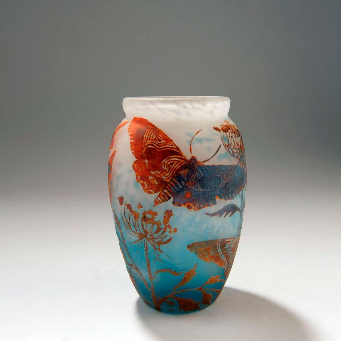'Les Papillons de Nuit' vase, c. 1925