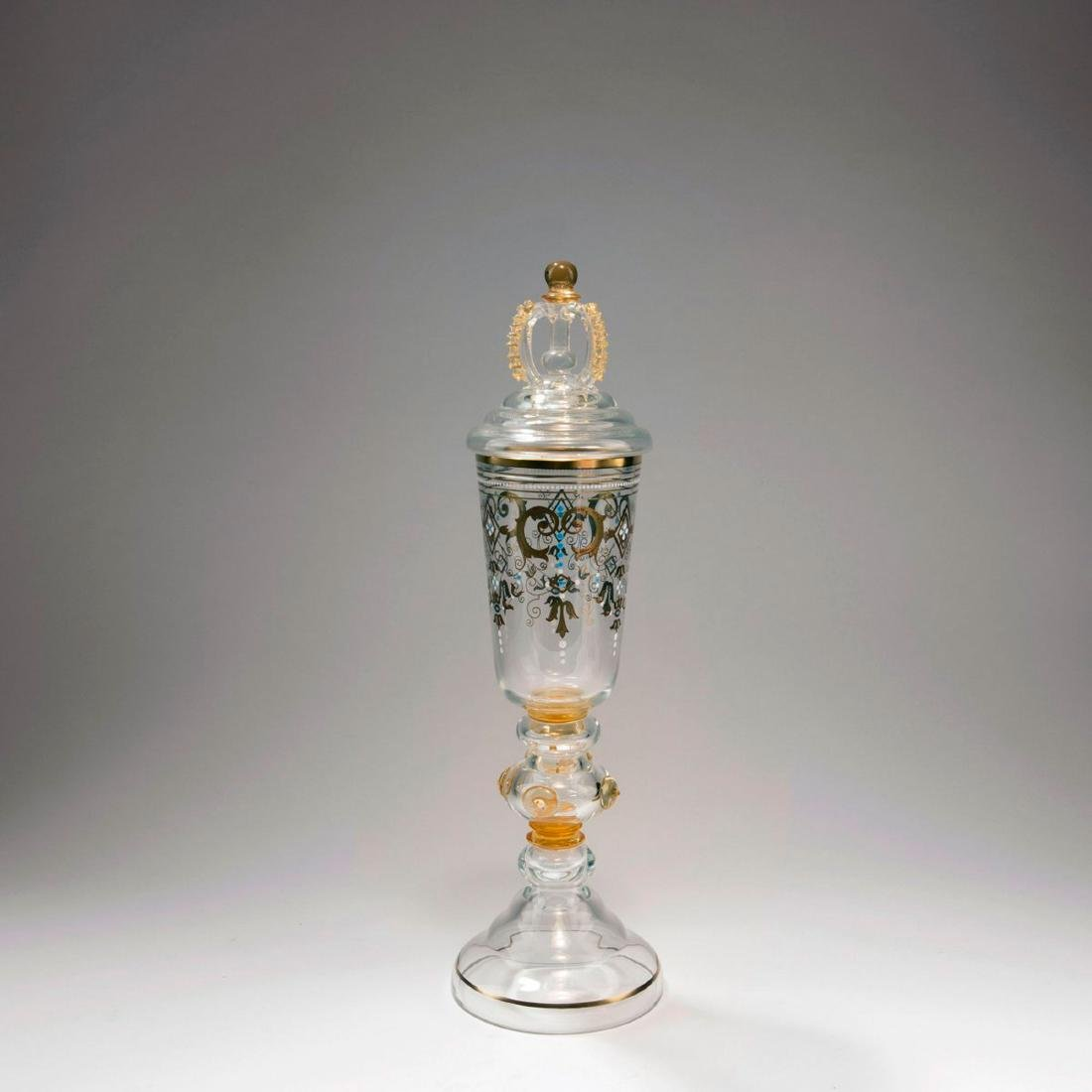 Covered goblet, c. 1885