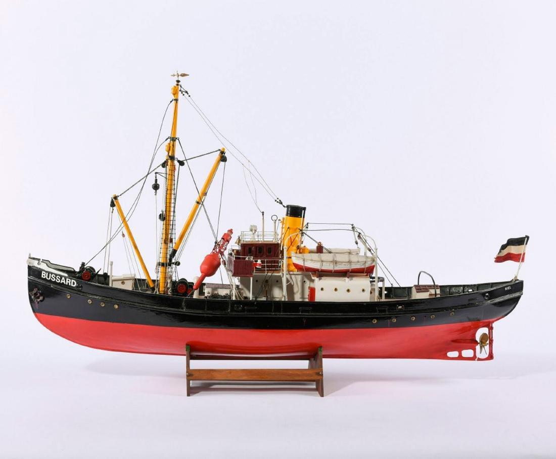 Model steamboat 'Bussard'