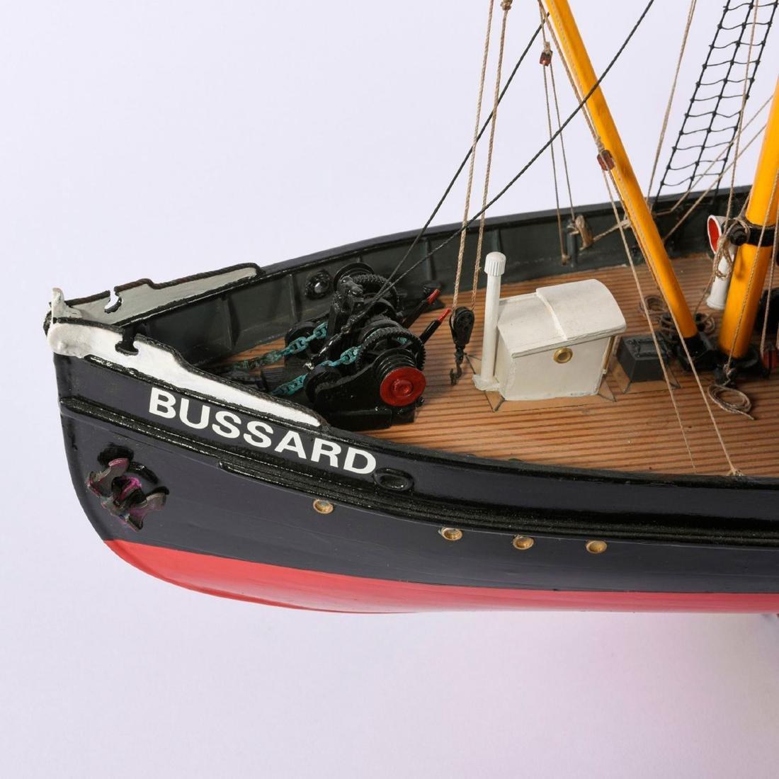 Model steamboat 'Bussard' - 2