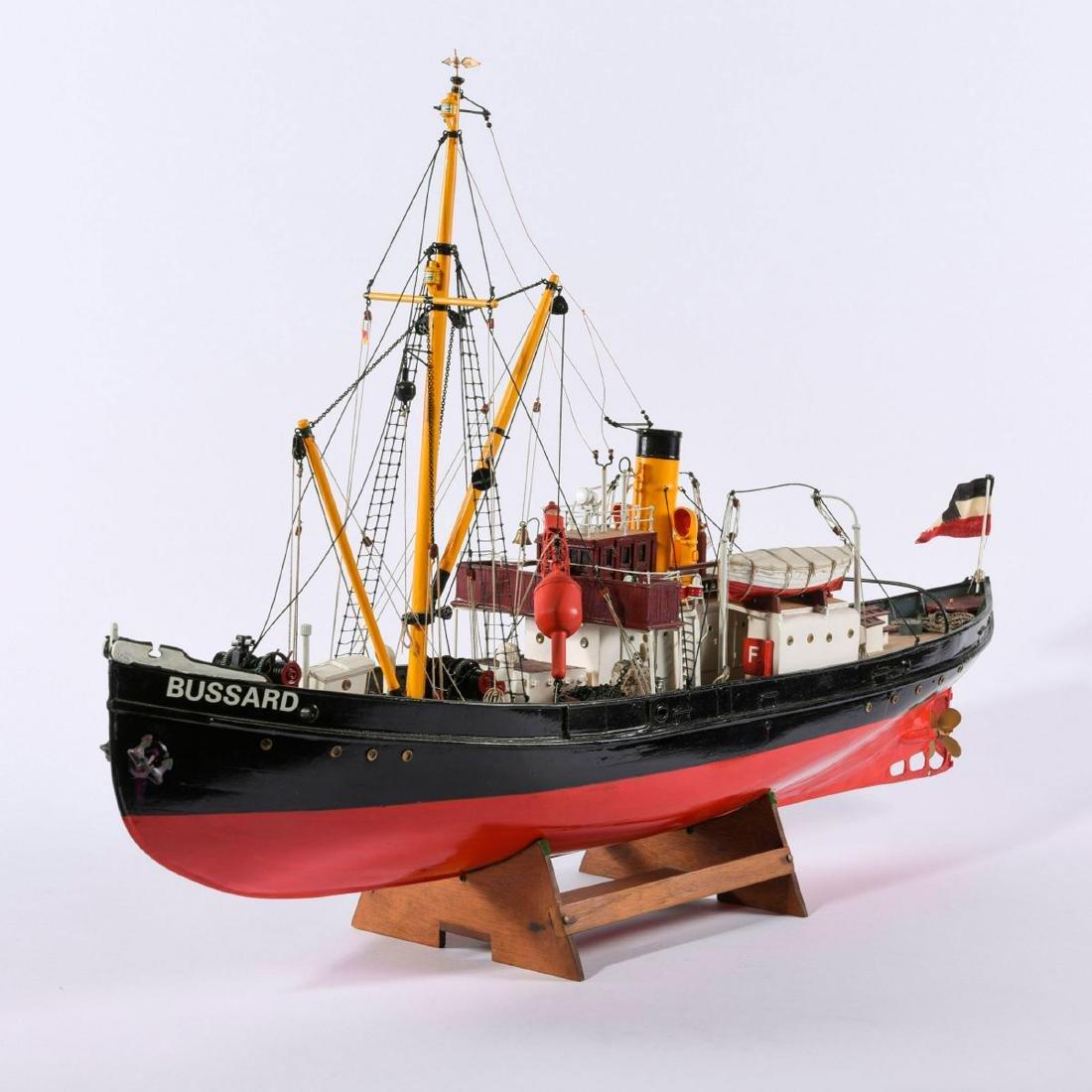 Model steamboat 'Bussard' - 6