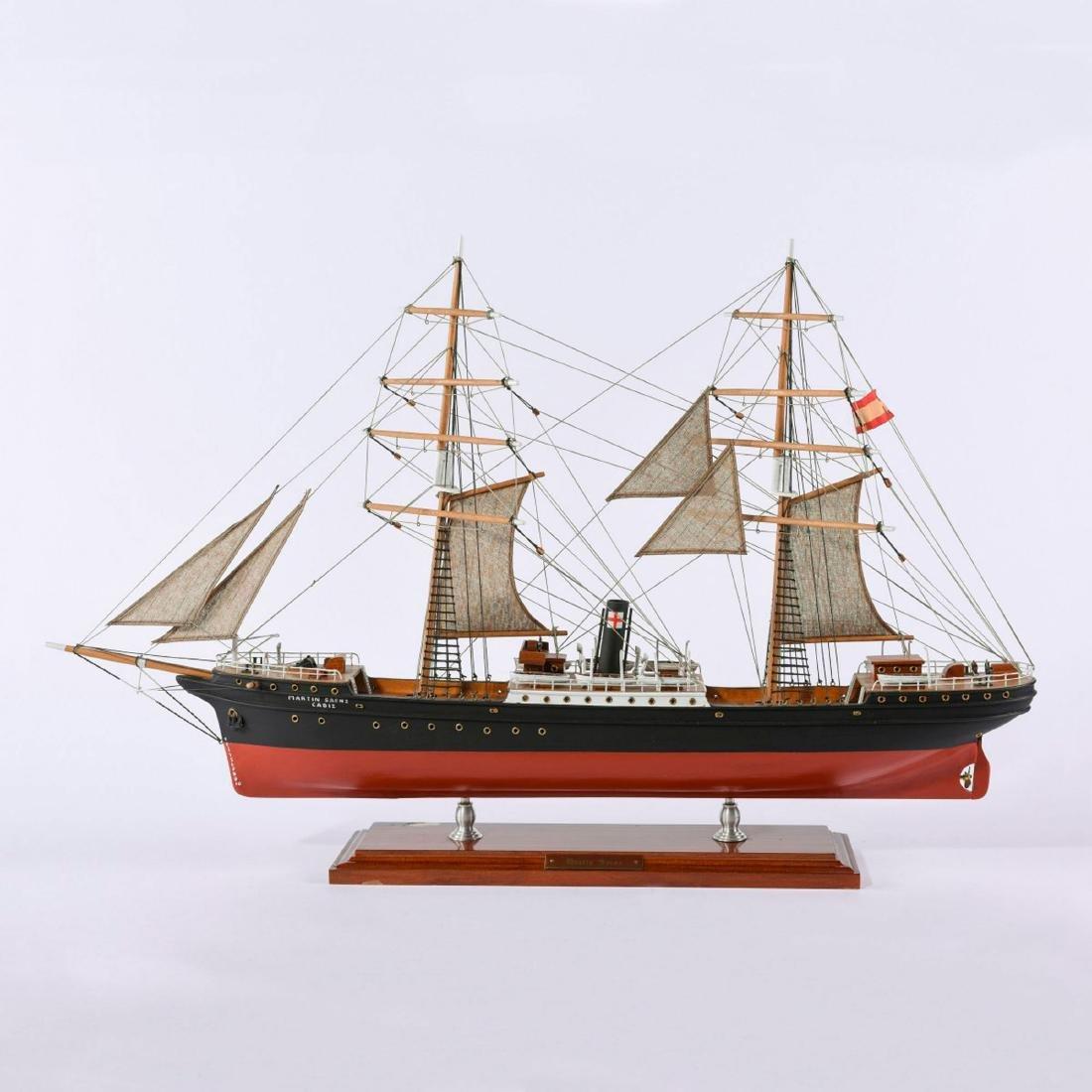Model screw steamer 'Martin Saenz'