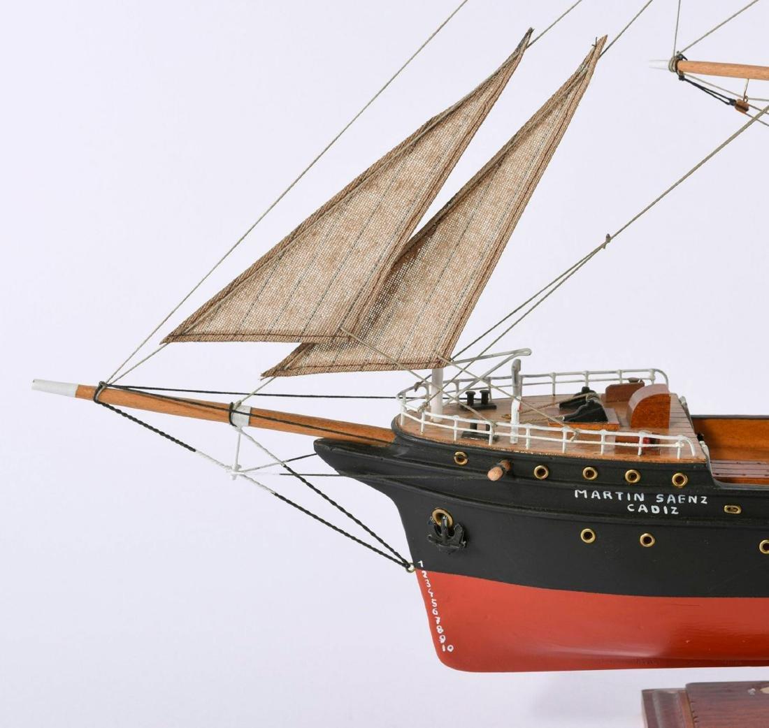 Model screw steamer 'Martin Saenz' - 2